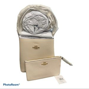 Mother's Day Set! Coach Town Bucket Bag/Wallet